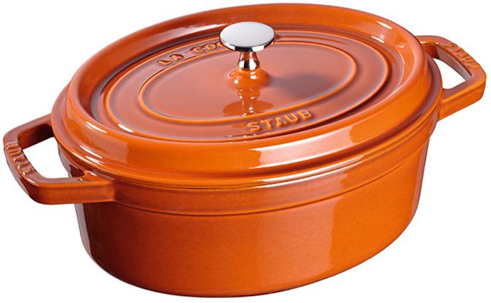Staub Oval Gryta 31 cm 5,5 liter Cinnamon