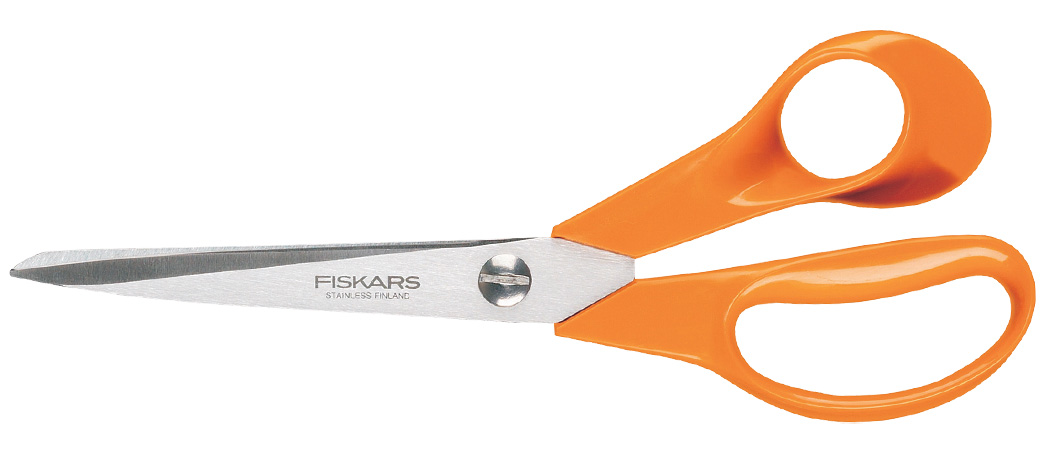 Fiskars Universalsax Höger Orange