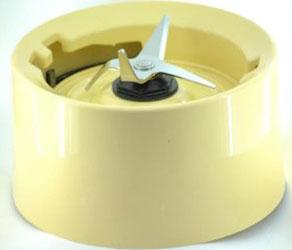 KitchenAid Plastkrage med kniver til Blender 5KSB555 Gul