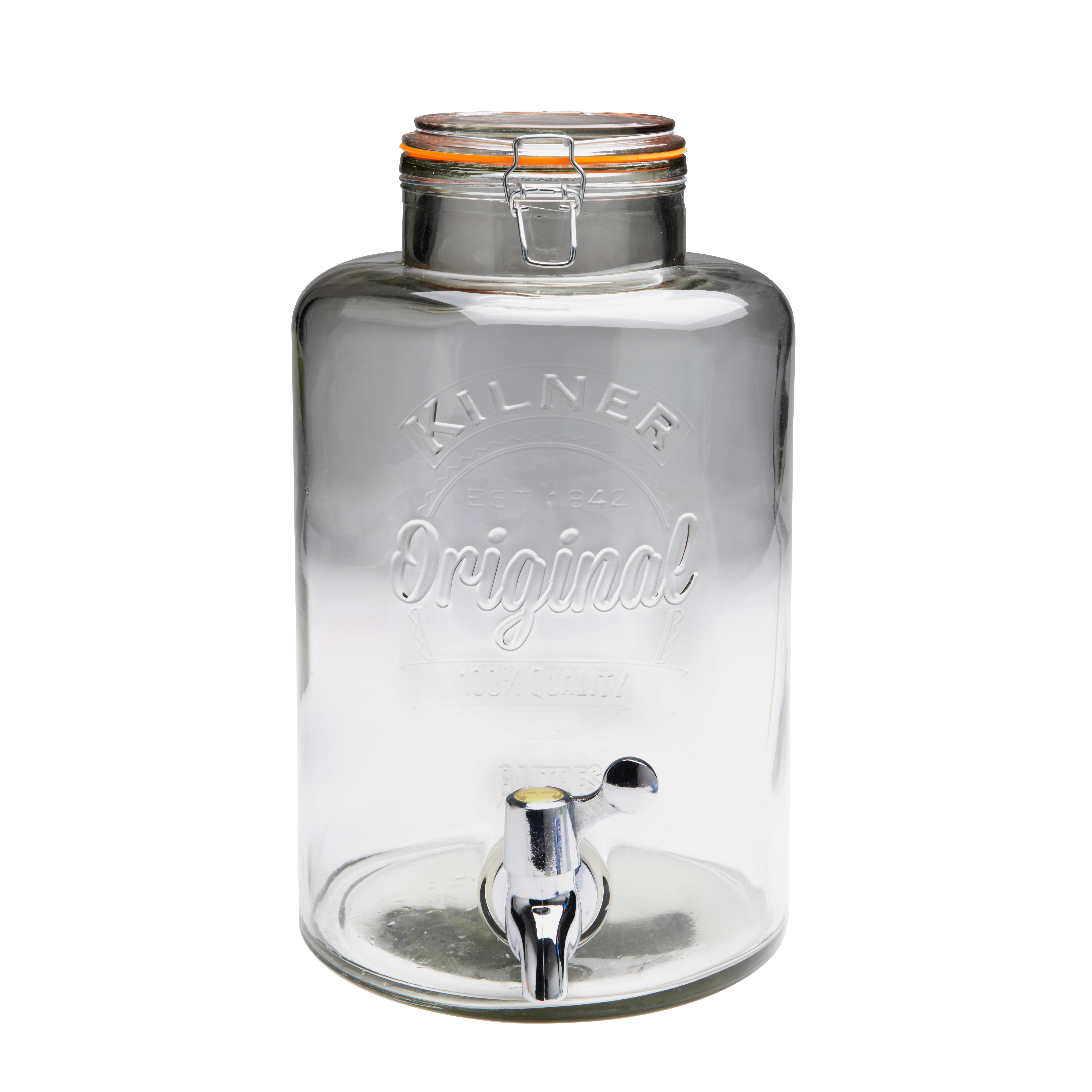 Kilner Glasbehållare med Tappkran 8 Liter