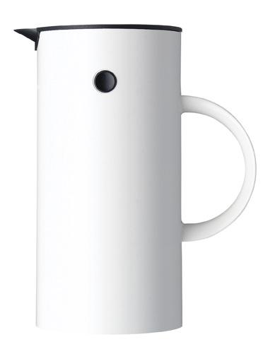 Stelton EM77 termoskanna 05 liter – ABS vit