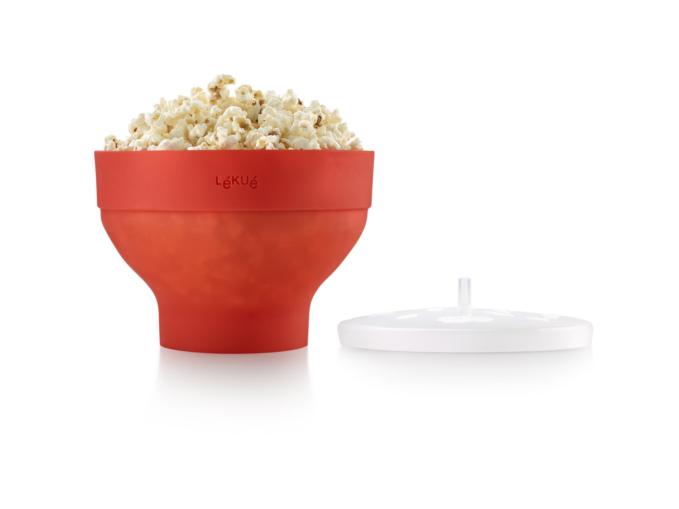 Lékué Popcorn Maker Micro Röd