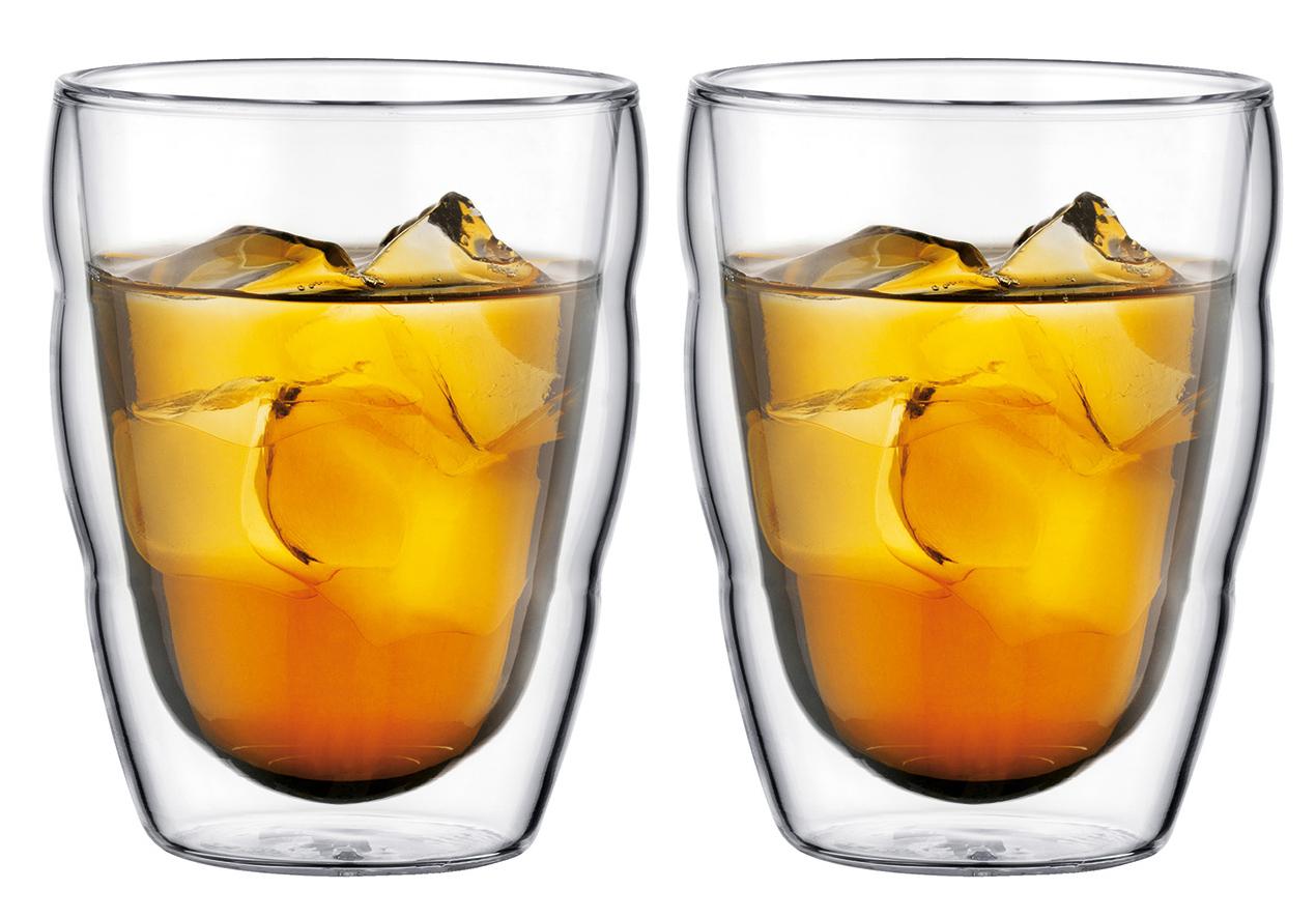 Bodum Pilatus Dubbelväggigt glas 025 Liter 2 pack