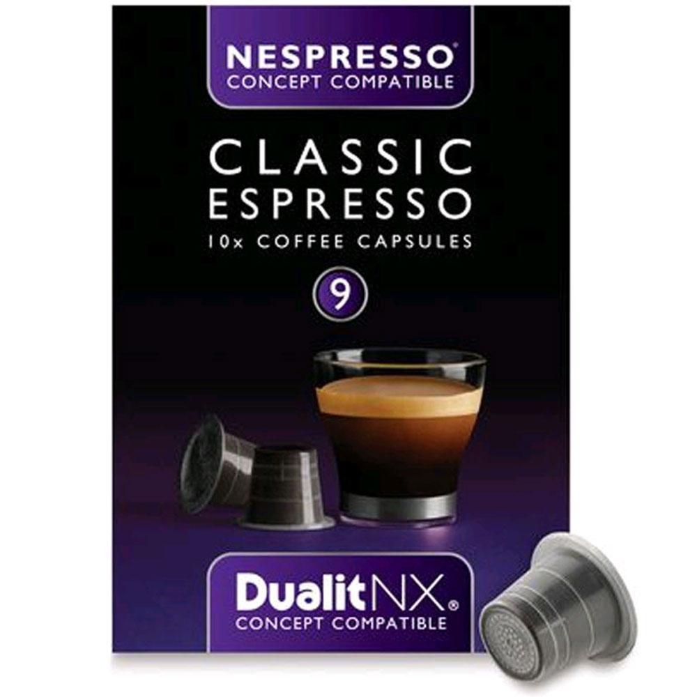 Dualit Kaffekapsel n/x Classic 10-pack