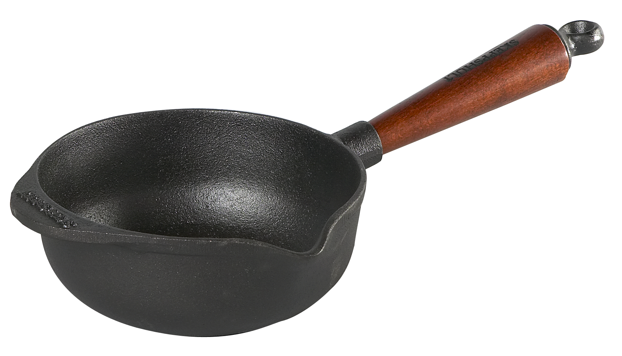 Skeppshult Støpejern Sauskasserolle 1 l Trehåndtak