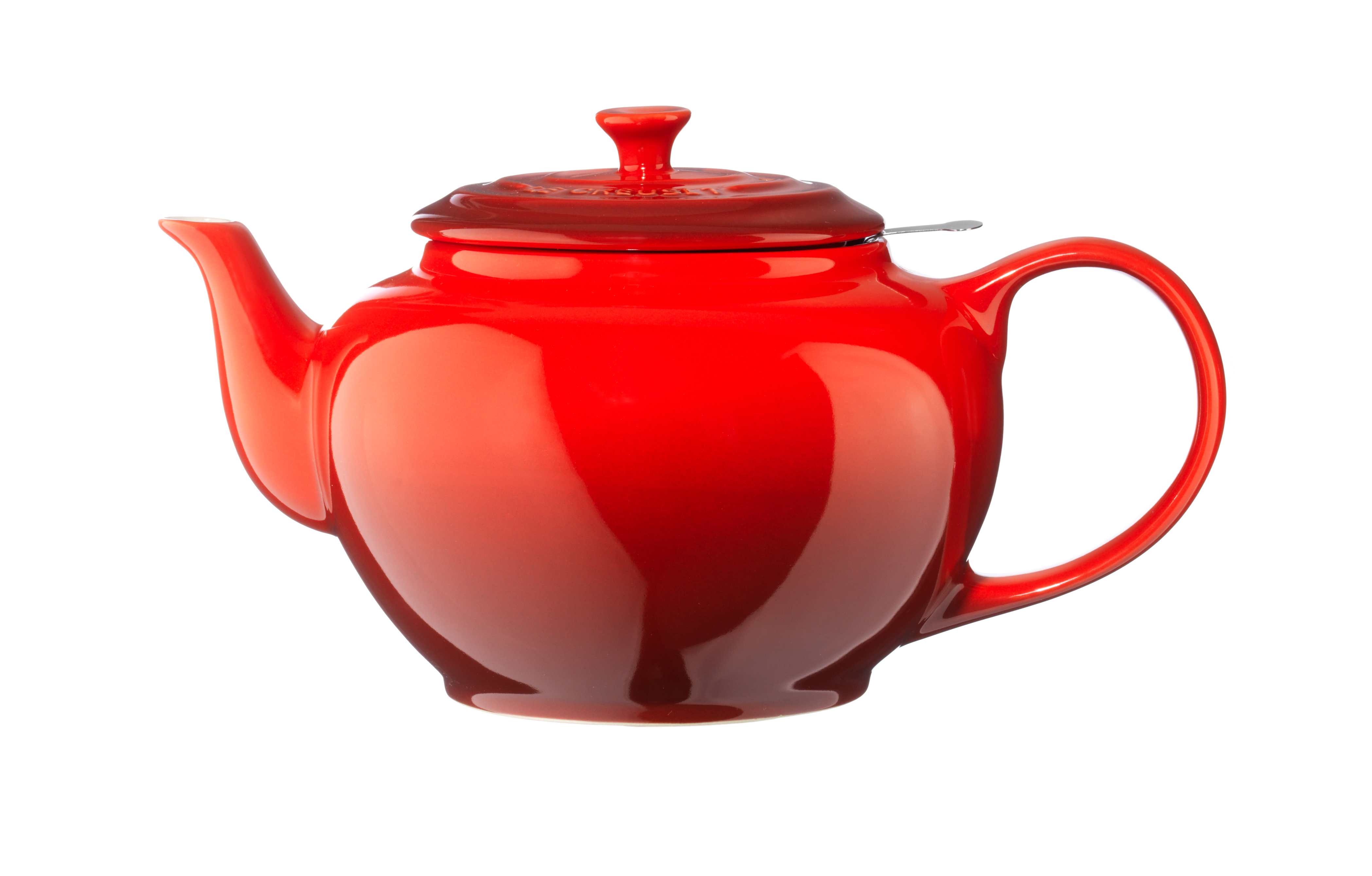 Le Creuset Tekanna med sil 1,3l Röd