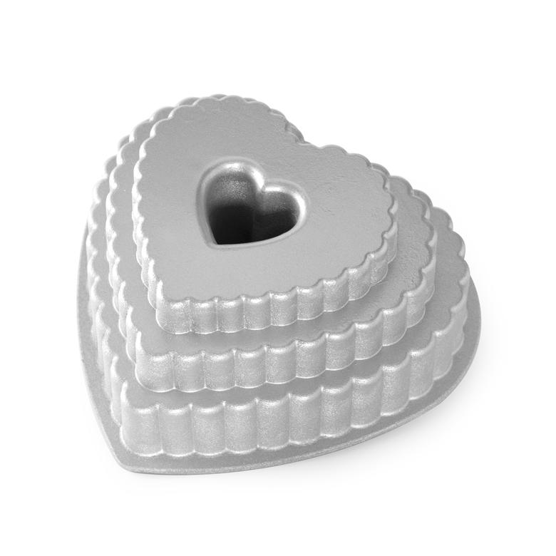 Nordic Ware Tiered Heart Bundt