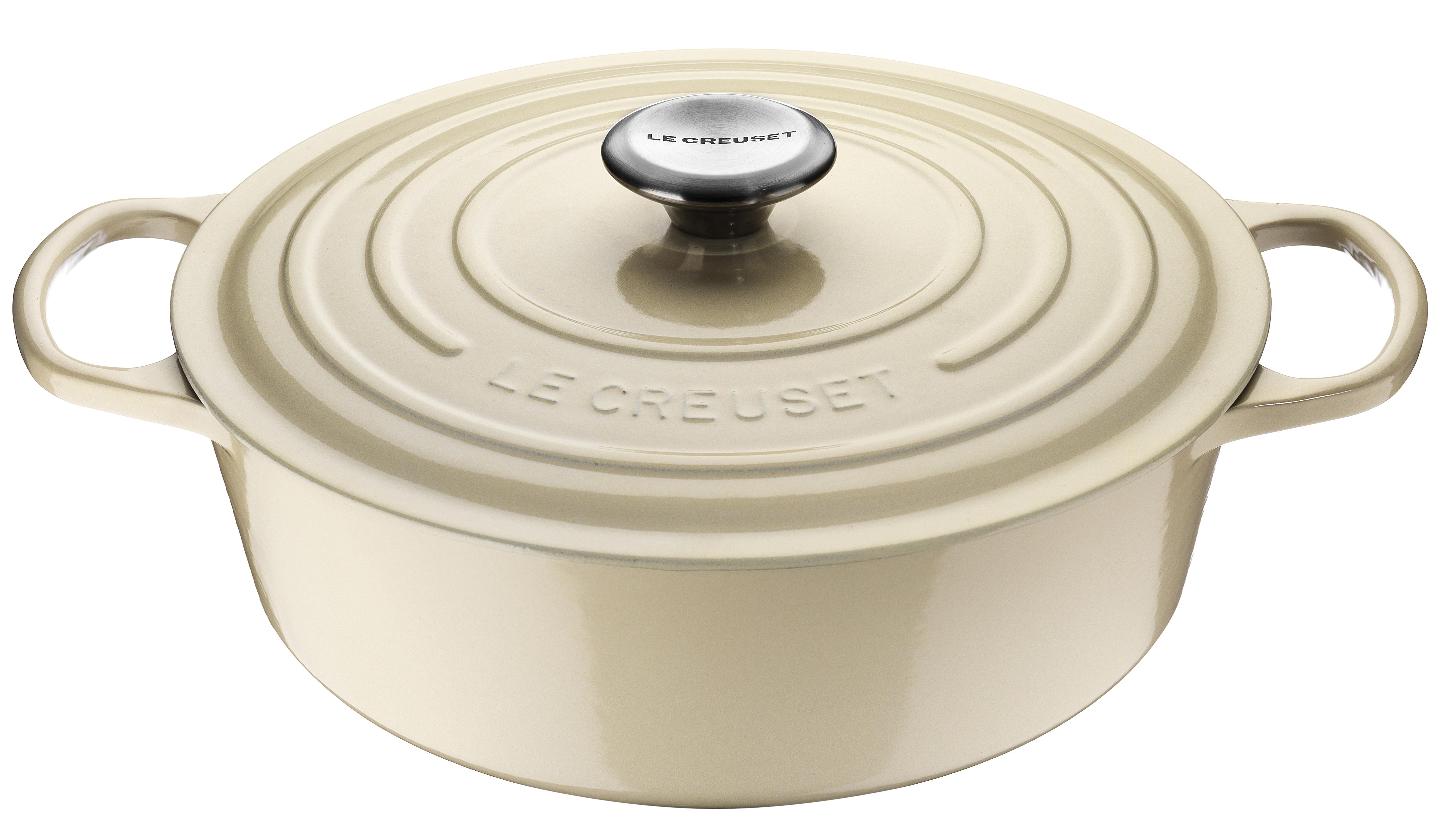 Le Creuset Signature Oval Gryta 27 cm 4,1 L Creme