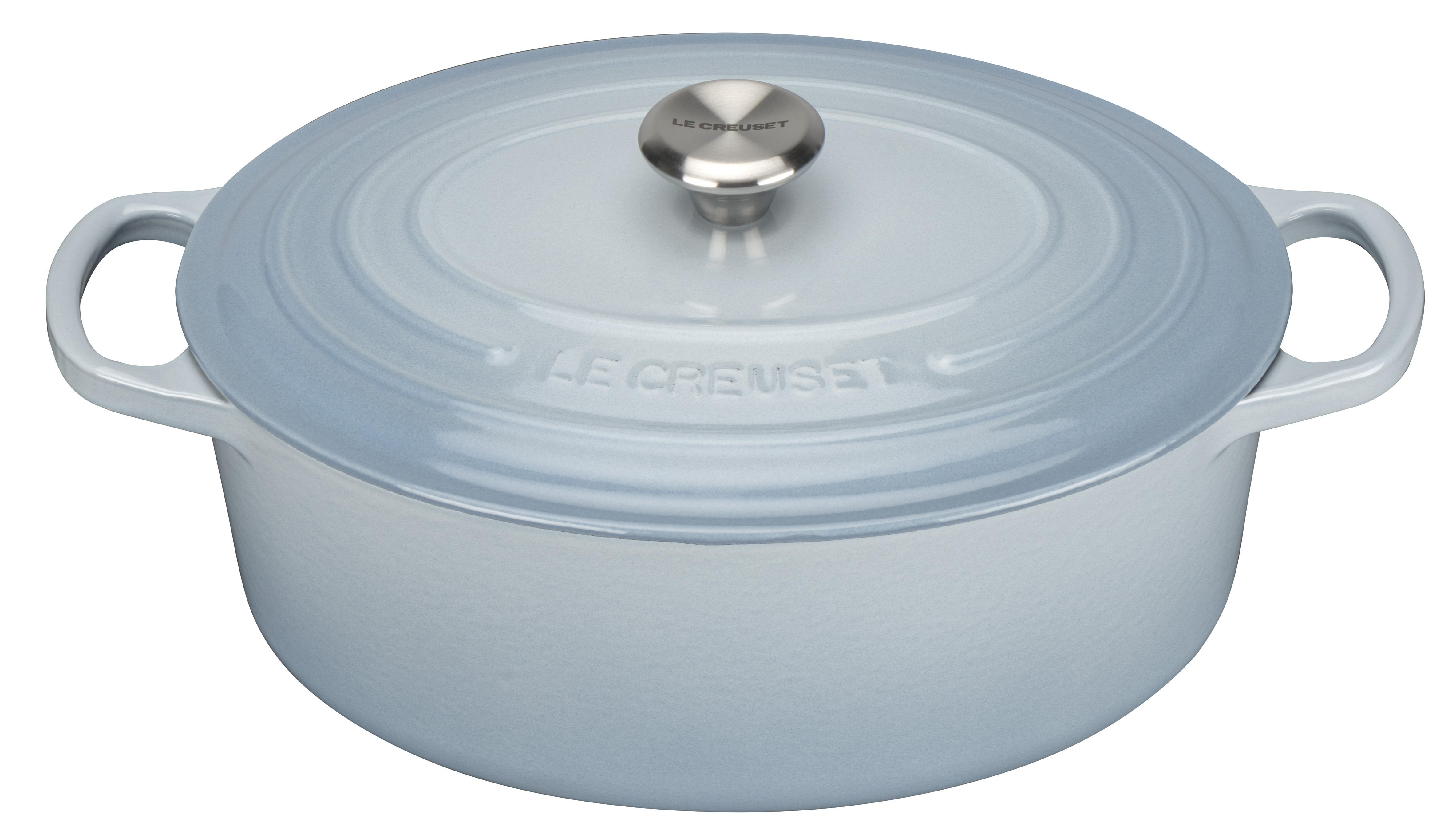 Le Creuset Signature Oval Gryta 27 cm 41 L Coastal Blue
