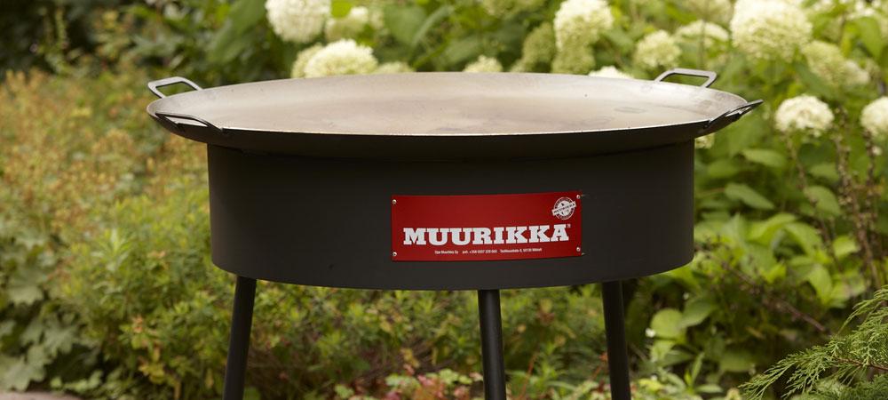 Muurikka Stekhäll 100cm med vindskydd och brännare