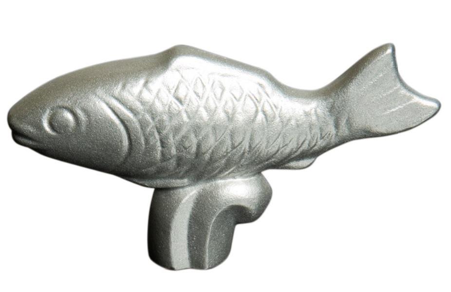 Staub Knopp i Metall - Fisk