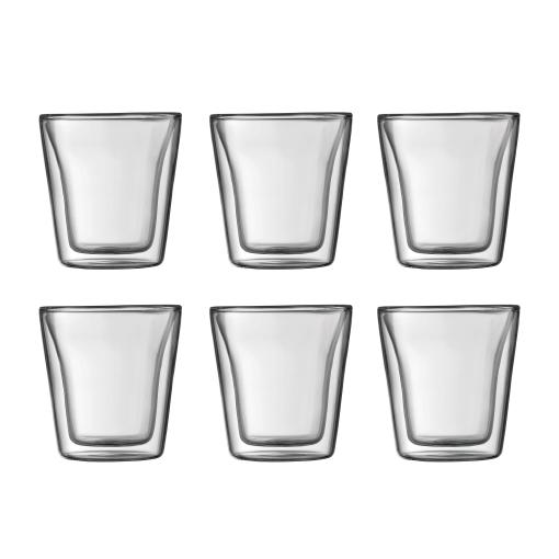 Bodum Canteen Dubbelväggigt Glas Small 6 pack