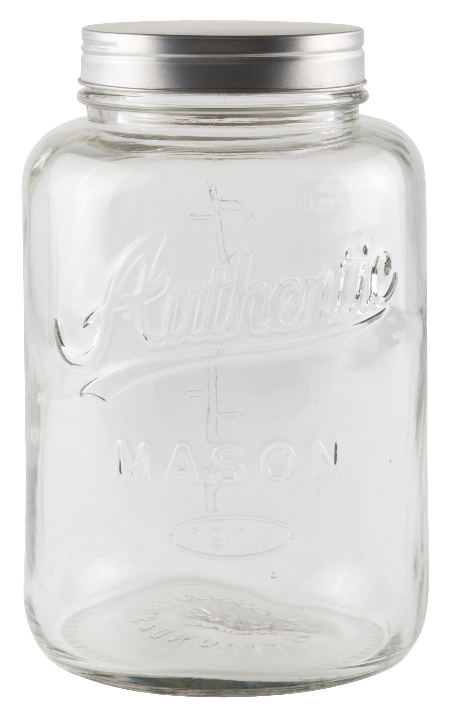 IB Laursen Glasburk med Metallock 3000 ml
