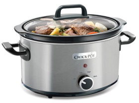 Crock Pot Slowcooker 35 L Rostfritt Stål