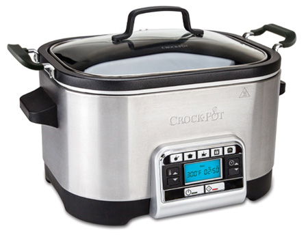 Crock Pot Multifunktionell Slowcooker 56 L Timer Rostfritt Stål