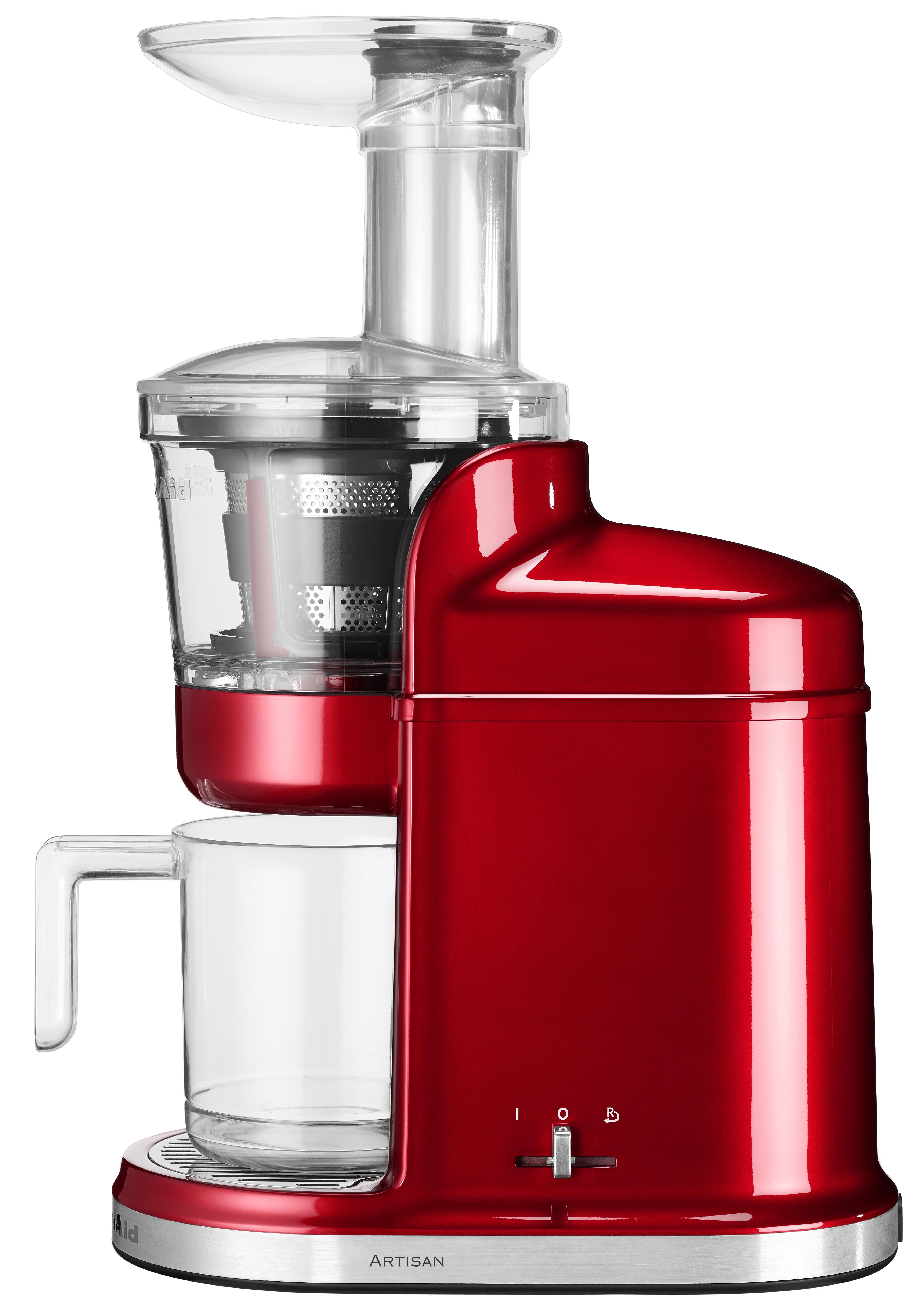 KitchenAid Artisan Slowjuicer Röd Metallic