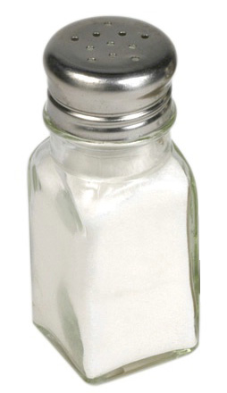 Salt/Pepparkar Klarglas