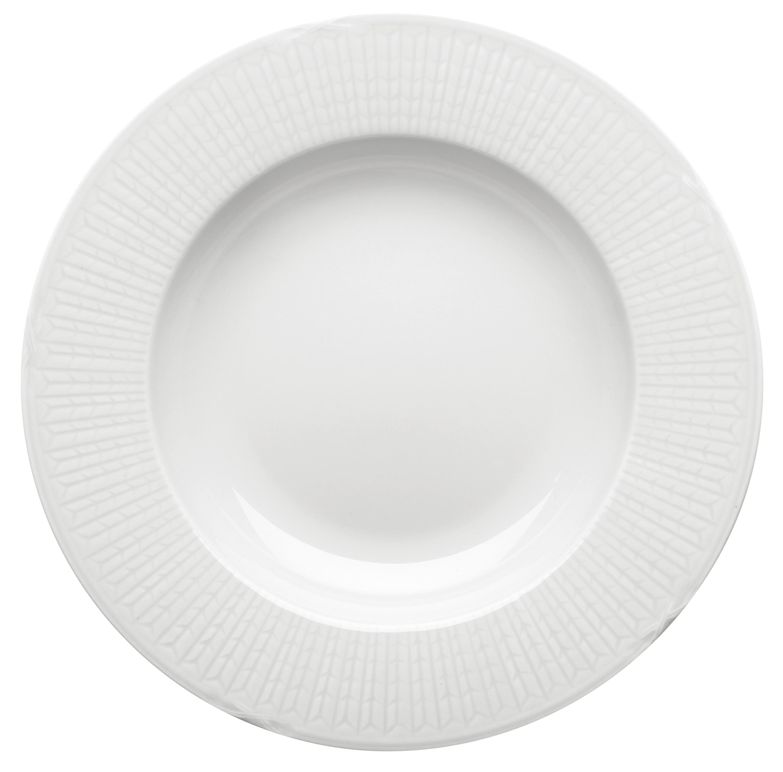 Rörstrand Swedish Grace Snö Tallrik djup 25 cm
