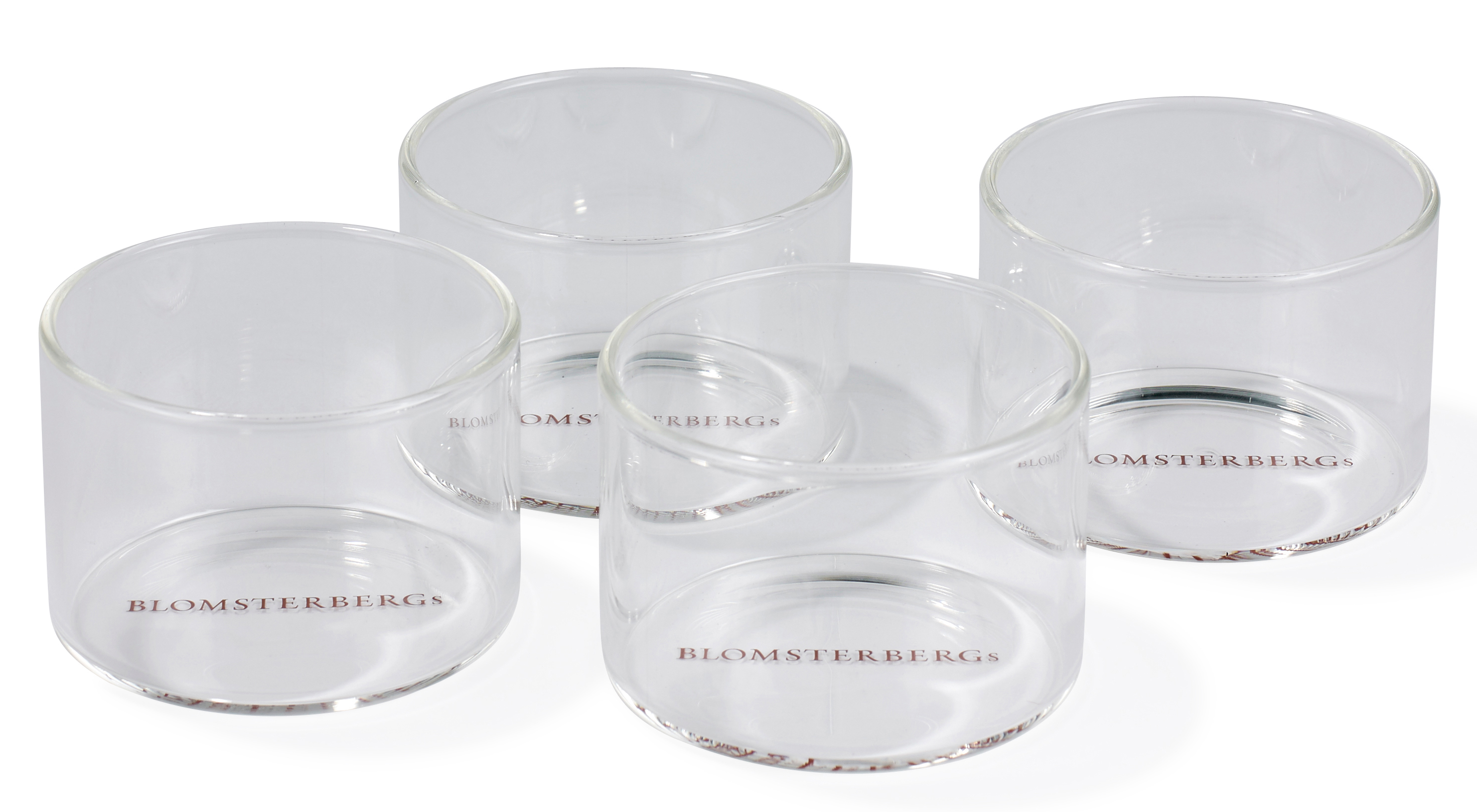 Blomsterberg Serveringsglas Medium 4 st