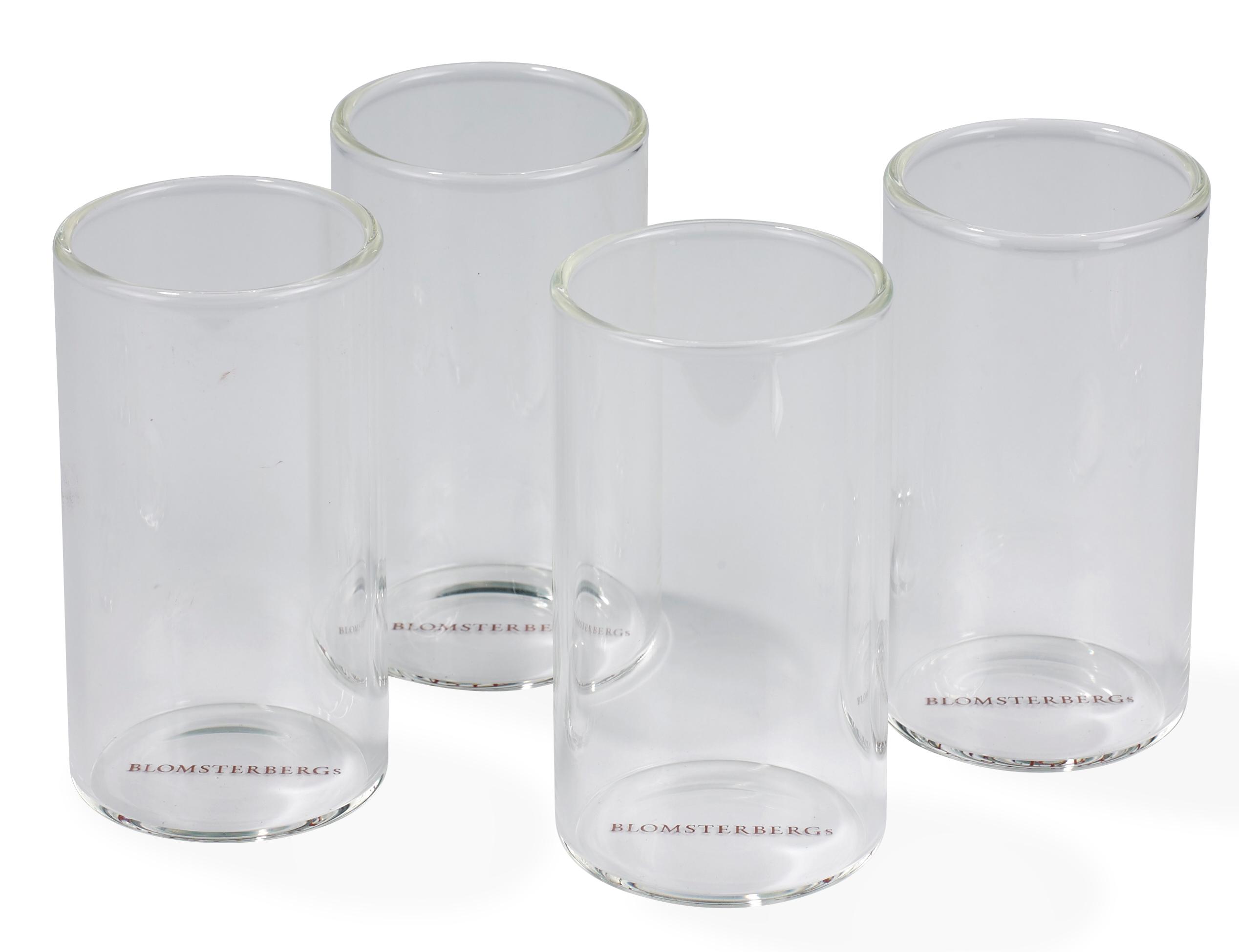 Blomsterberg Serveringsglas Large 4 st