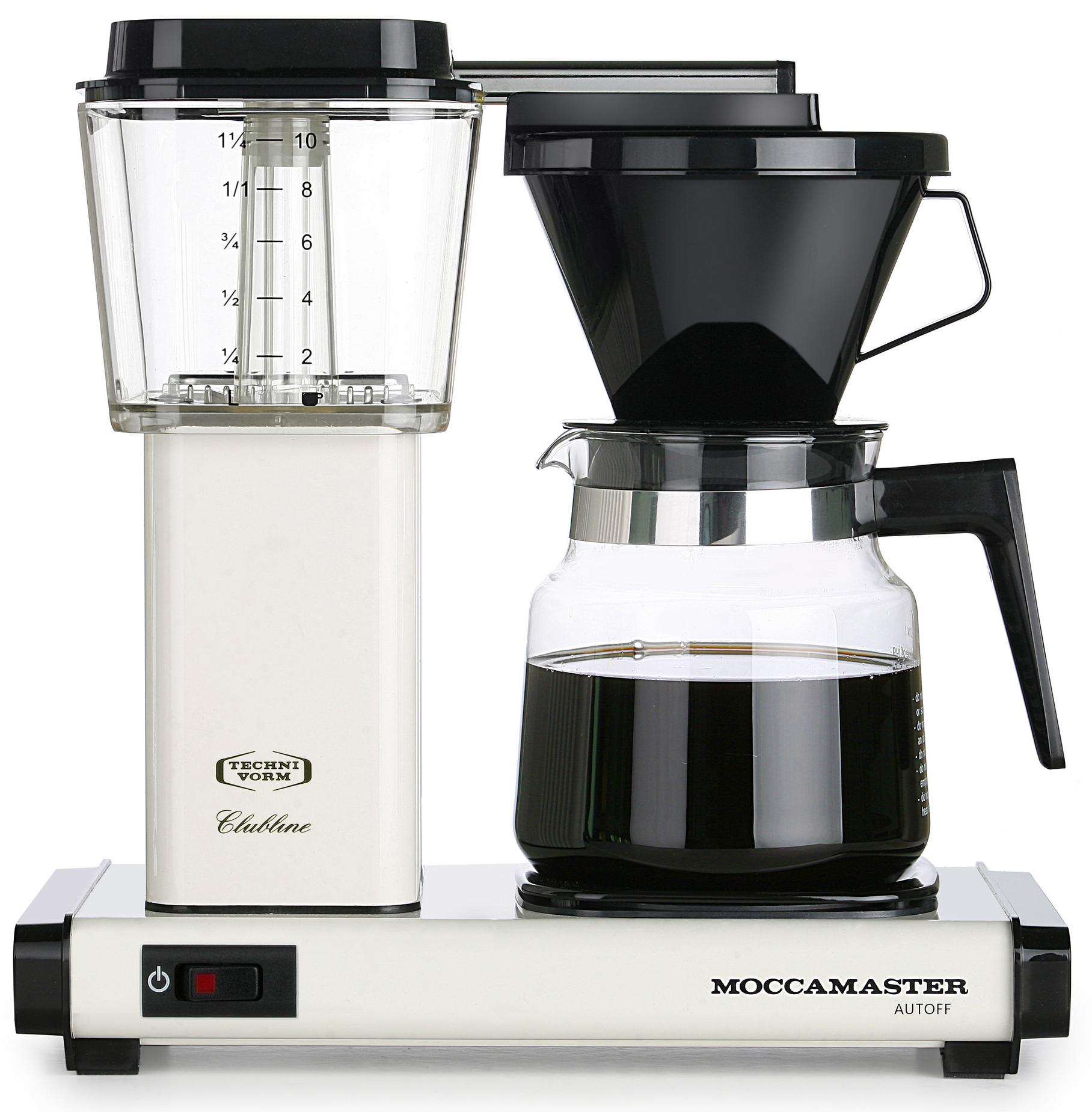 Moccamaster Kaffebryggare H931AO Vit