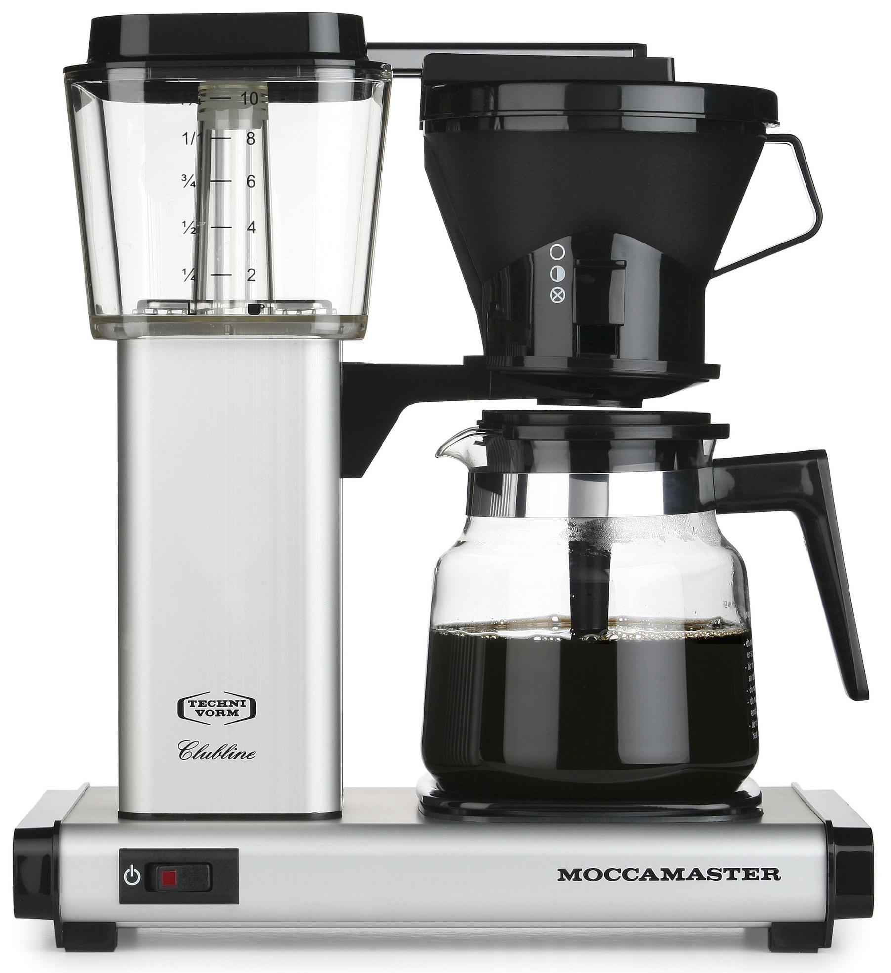 Moccamaster Kaffebryggare HBG951AO Matt Silver