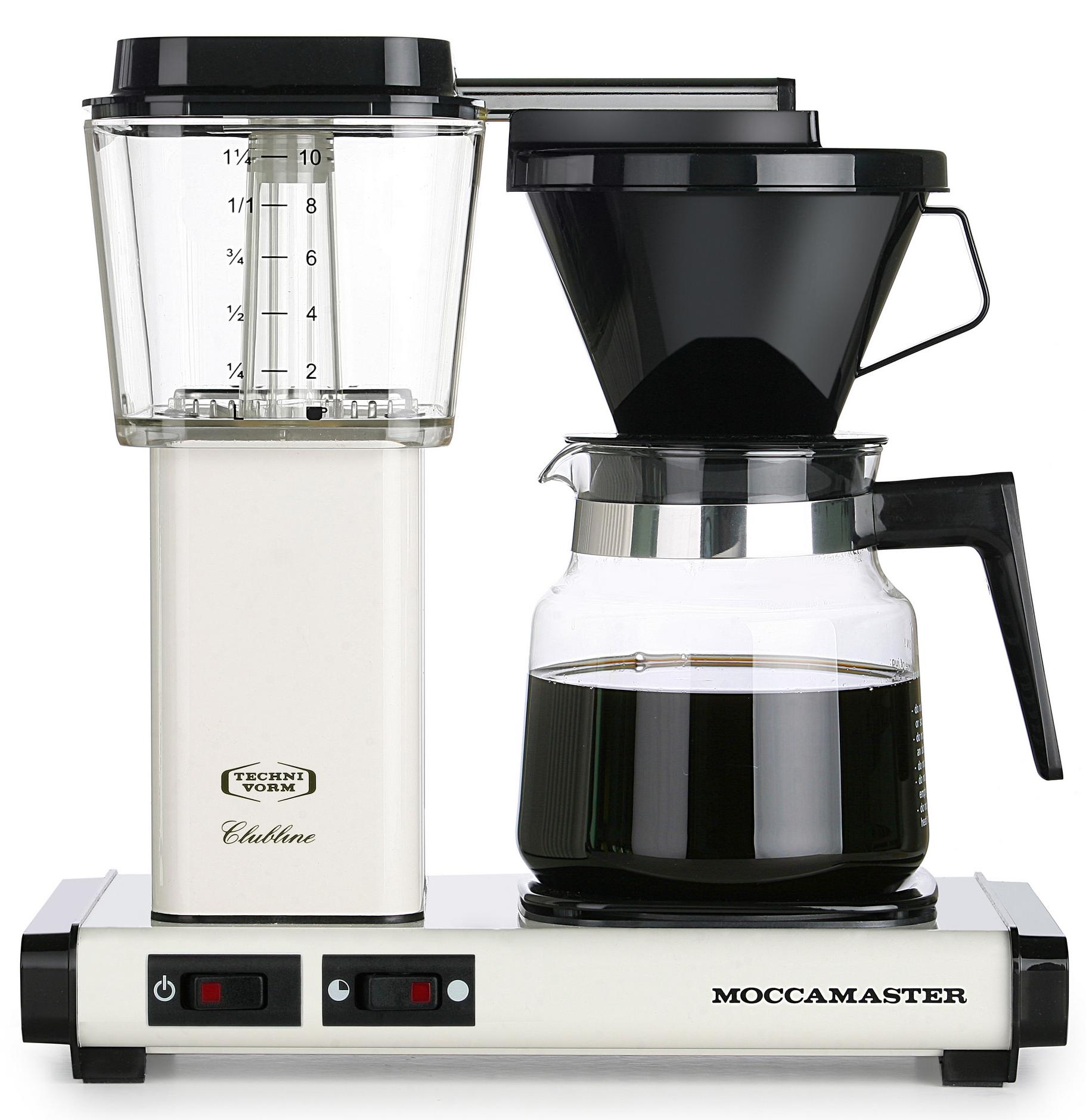 Moccamaster Kaffebryggare K942AO Cream
