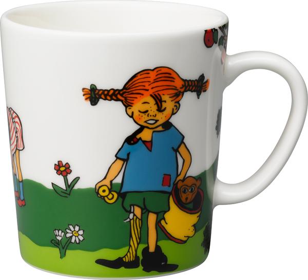 Rörstrand Pippi Langstrømpe Krus Skattejakt 30 cl