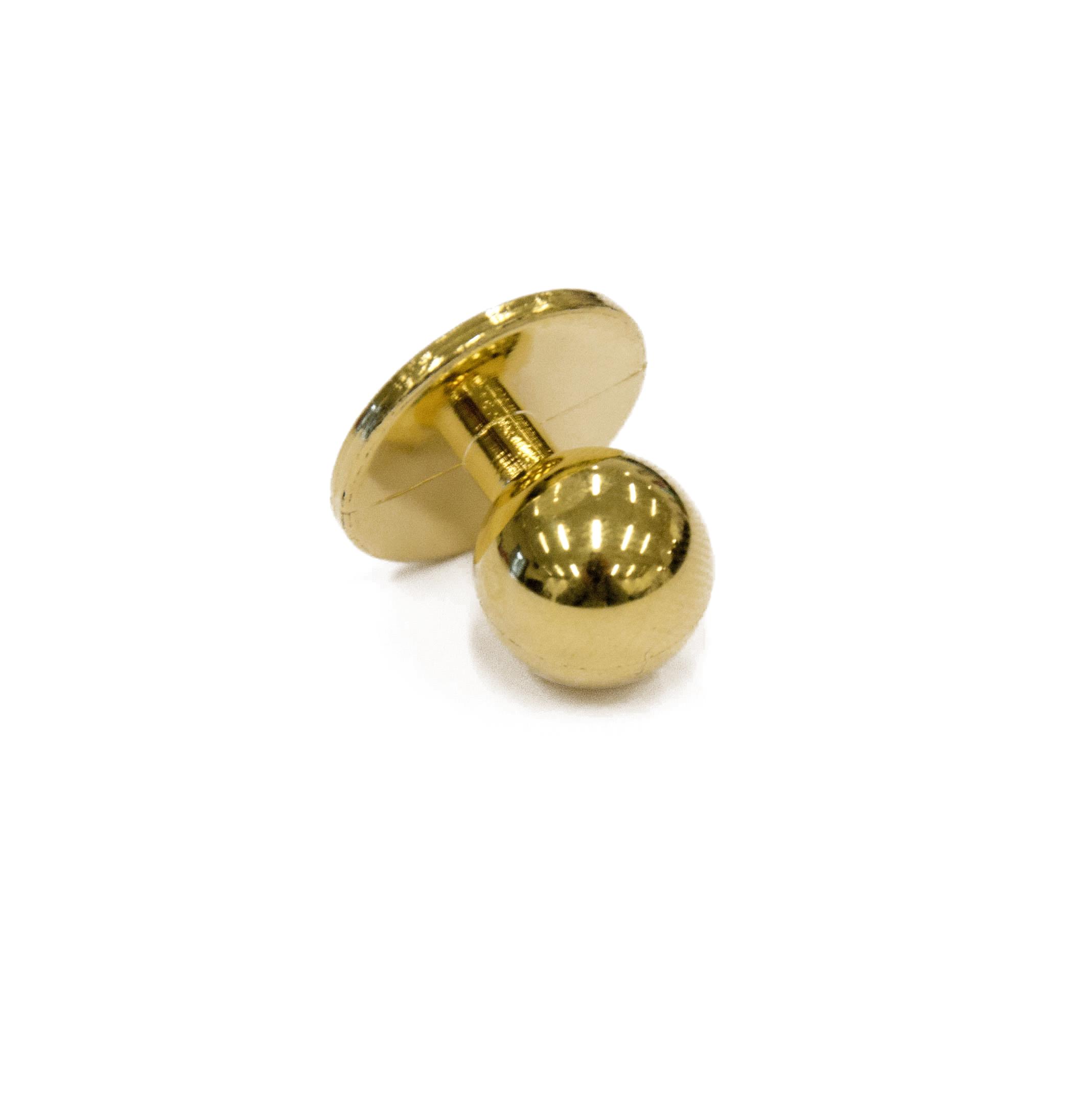 Segers Kockknappar till kockrock Guld 10st