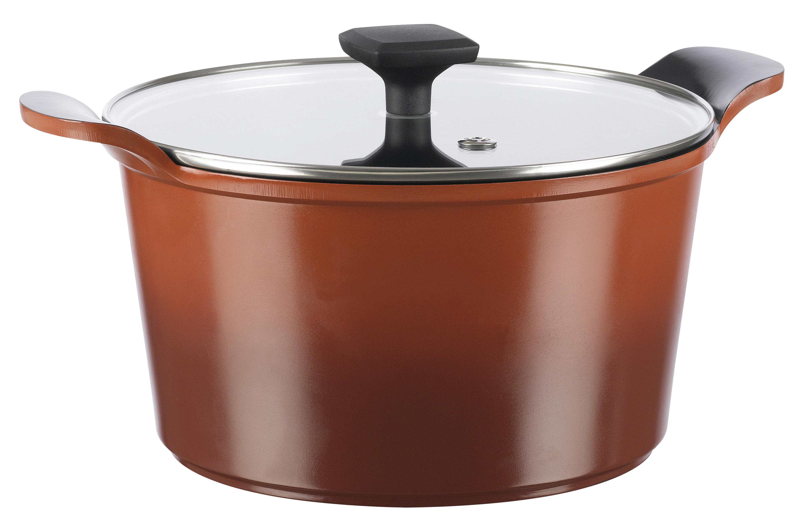 OBH Nordica Eco Kitchen Gryte Rød 5 liter 24 cm