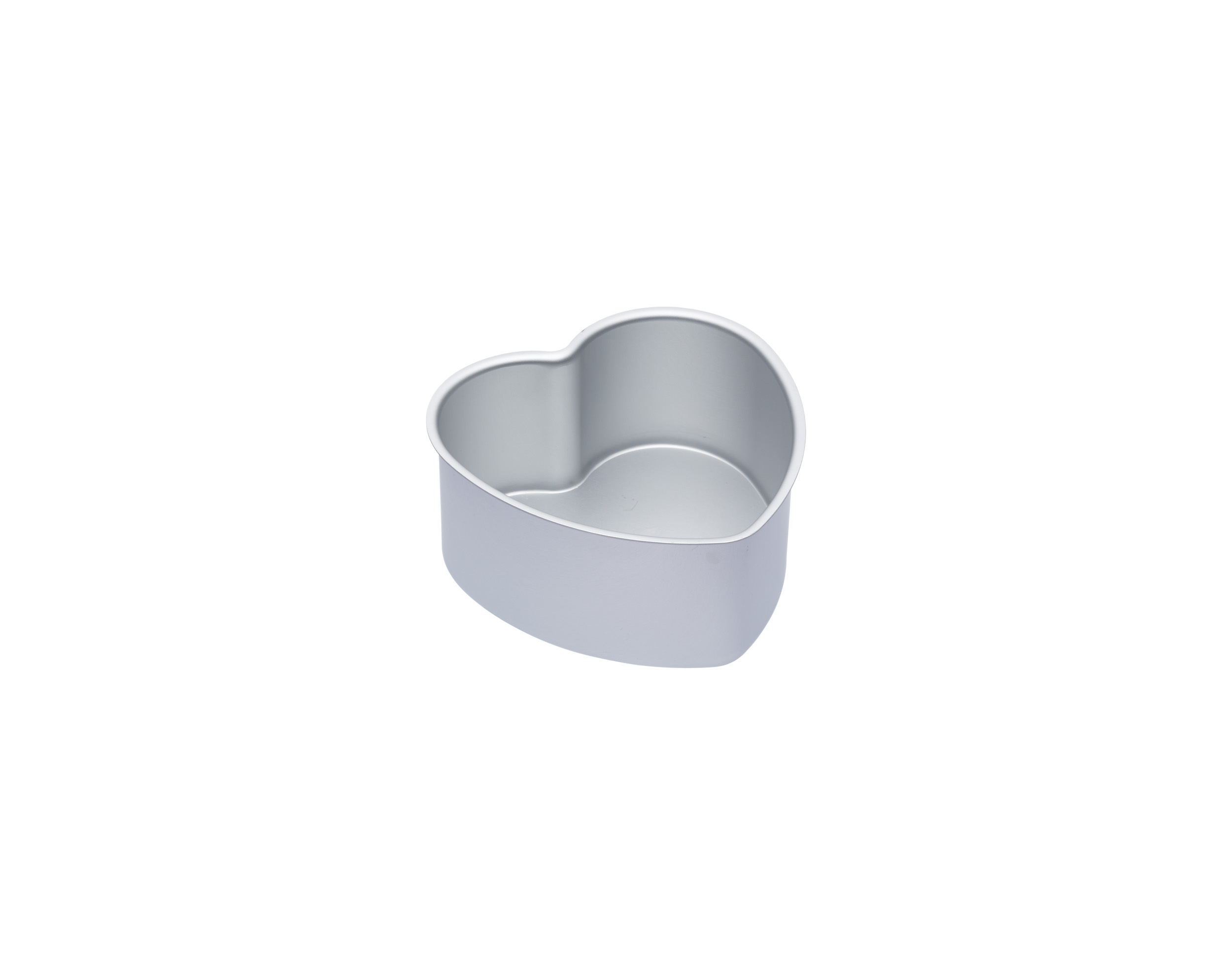 Kitchen Craft Master Class Kakform Hjärtan Silver Lös botten 15×7.5cm