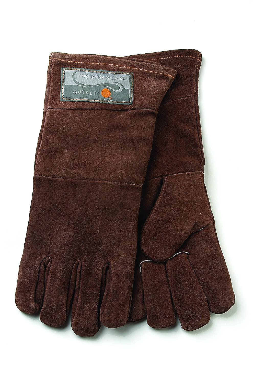 Outset Grillhandskar i läder one size
