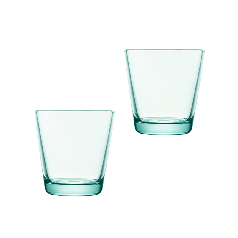 Iittala Kartio Glas 21 cl Vattengrön 2-pack