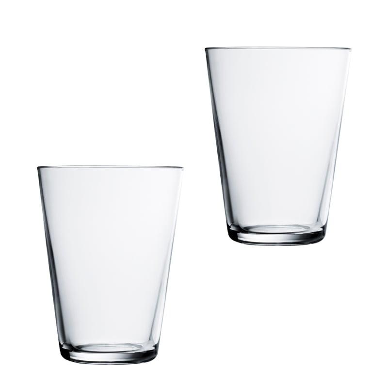 Iittala Kartio Glass 40 cl Klar 2-pack