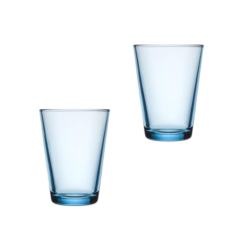 Iittala Kartio Glass 40 cl Lyseblå 2-pack