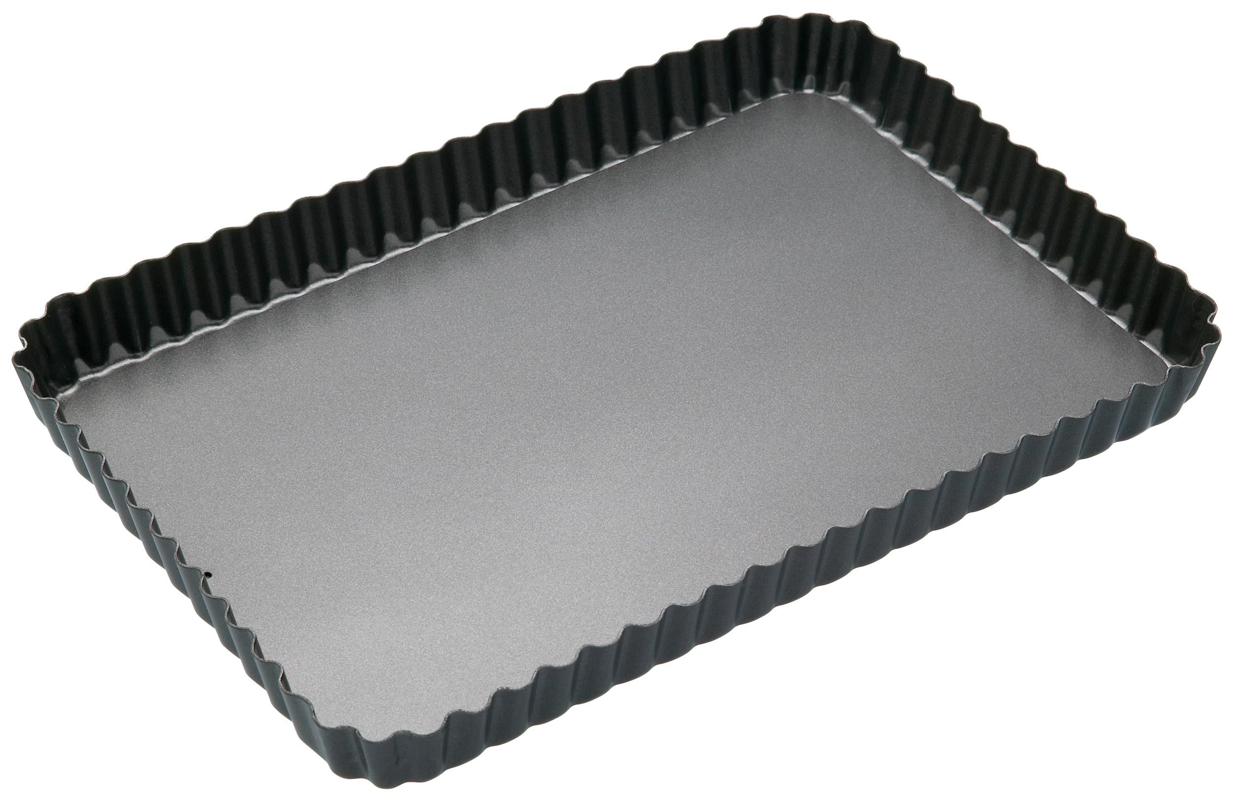 Kitchen Craft Pajform rektangulär med Löstagbar Botten Non-stick 21 cm x 31 cm