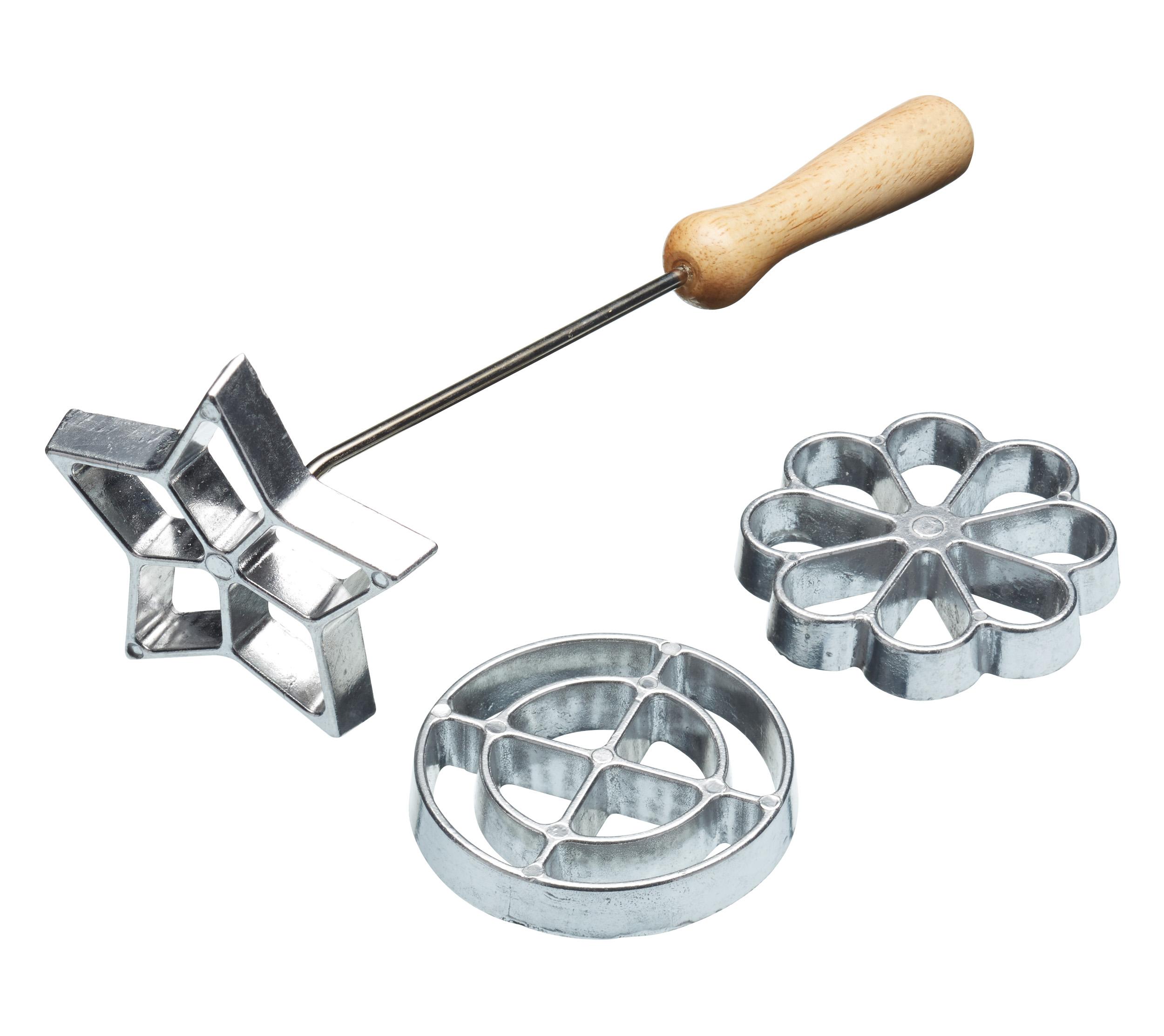 Kitchen Craft Struvjärn set om 3 Aluminium