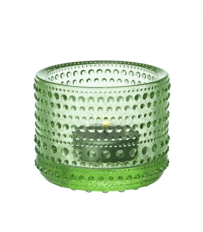 Iittala Kastehelmi Ljuslykta 64mm Äppelgrön