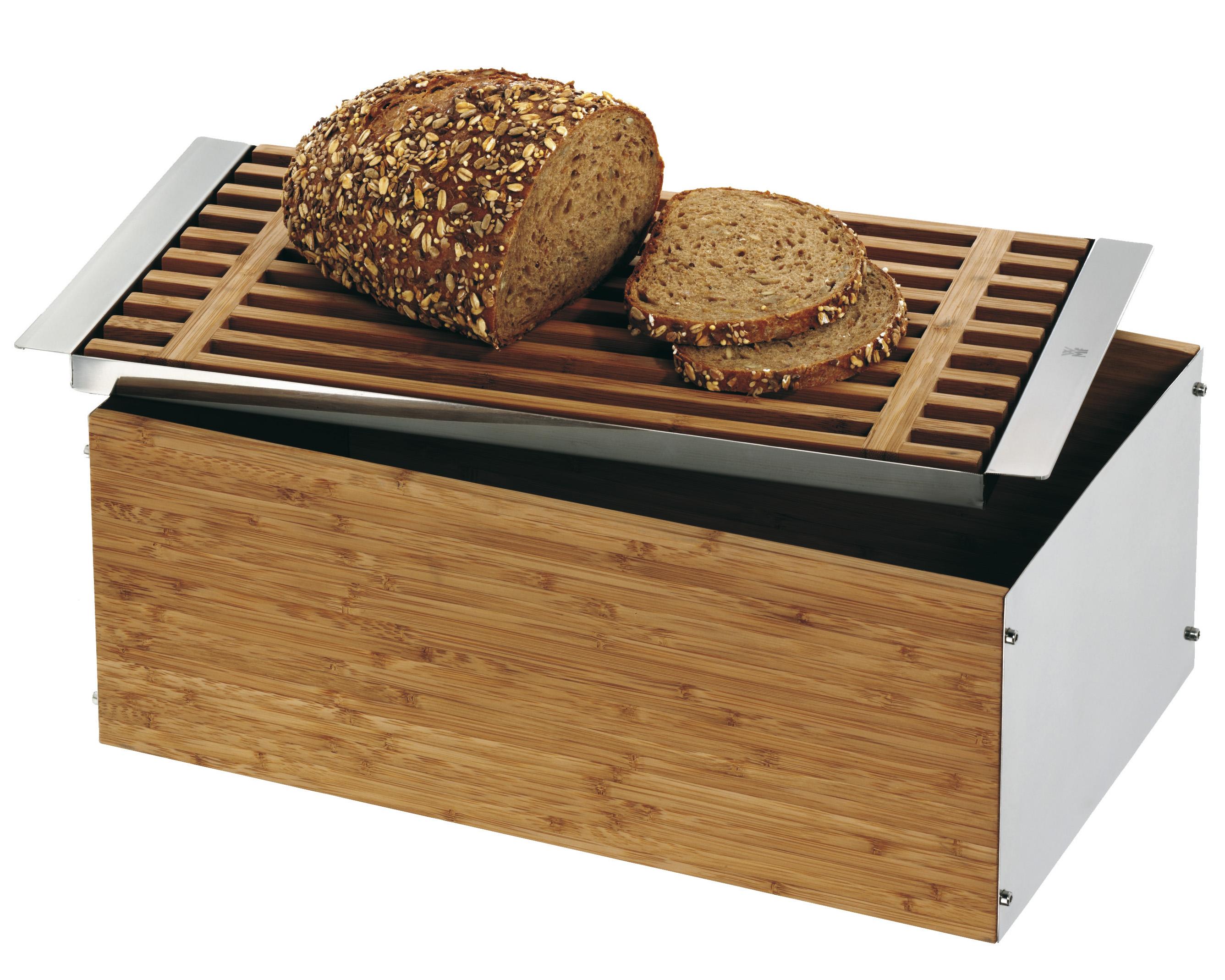 WMF Brödlåda Gourmet Bambu/Blank stål