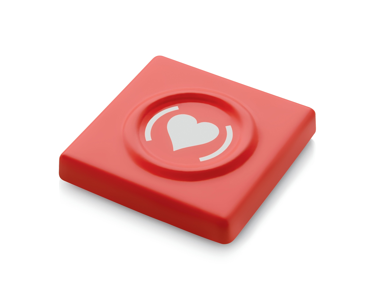 Alessi Kondombox Specialutgåva Röd