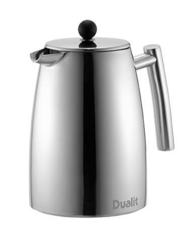 Dualit Cafetiéra Pressbryggare för Kaffe/Lösblads Te
