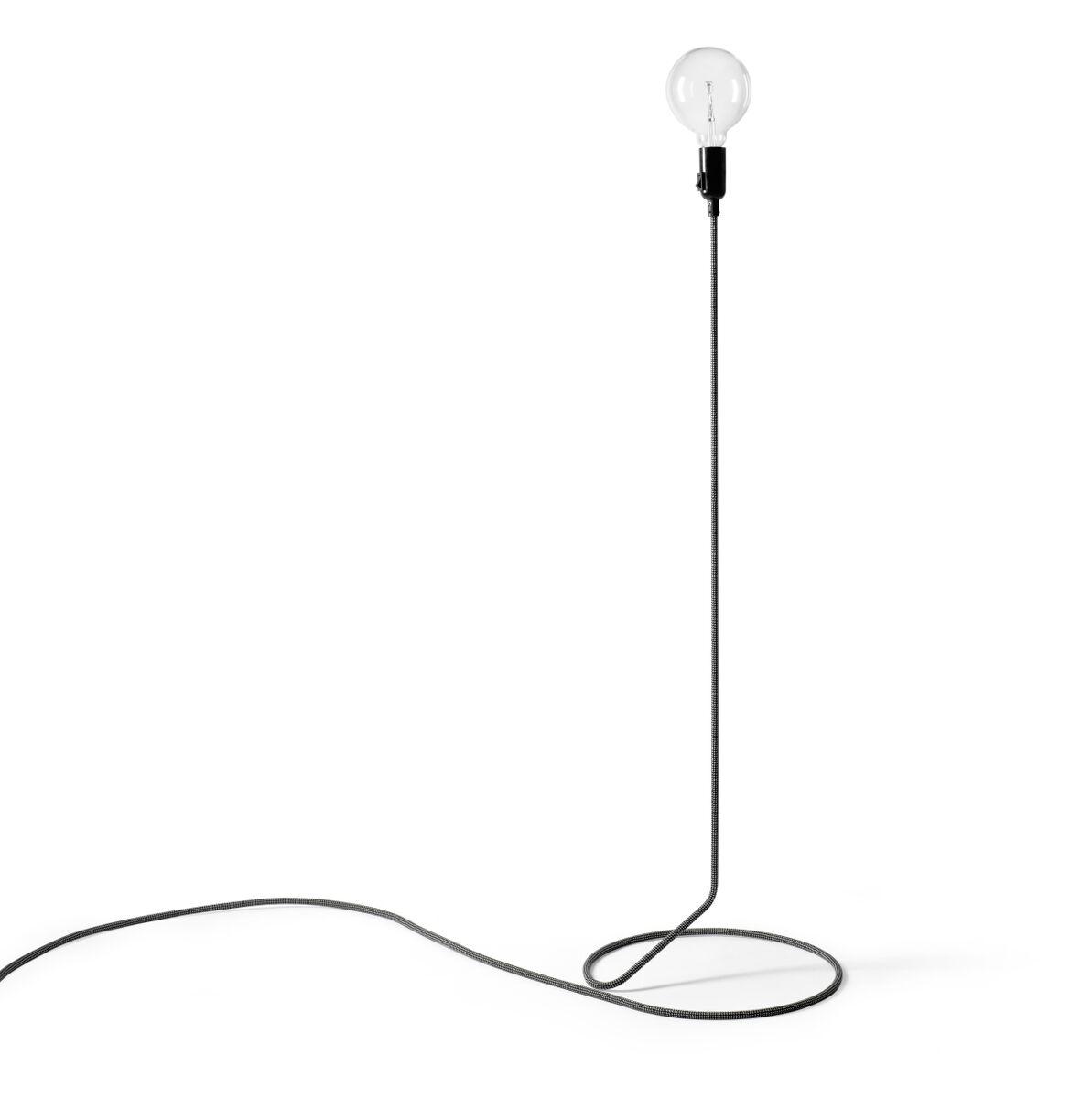 Design House Stockholm Cord Lampa Svart/Vit 130 cm