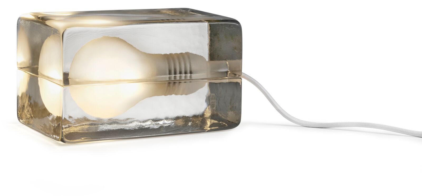 Design House Stockholm Blocklampa Vit Sladd