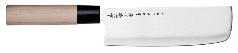 Satake Houcho Grönsakshacka Magnoliahandtag 17 cm