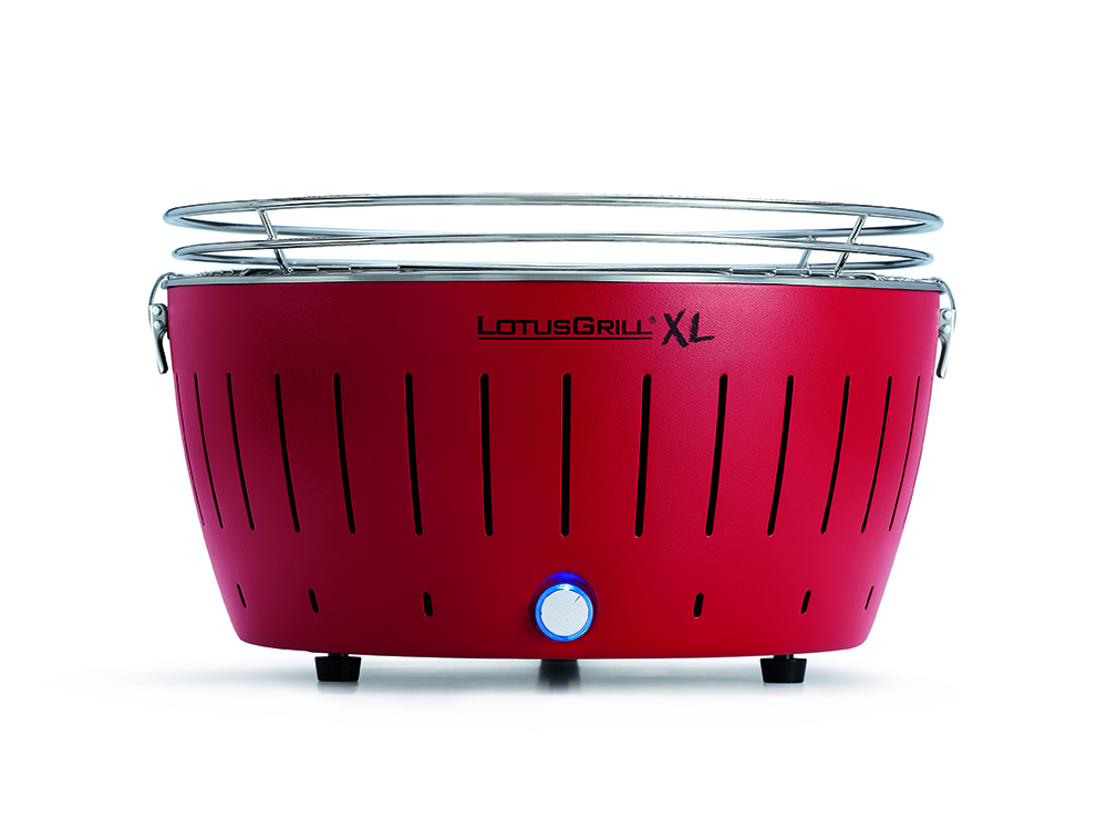 LotusGrill XL Rökfri kolgrill Röd