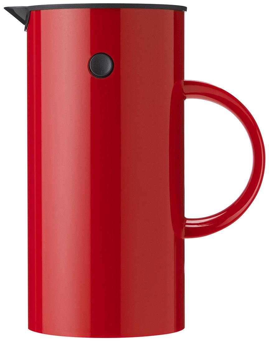 Stelton EM Kaffepress 8 koppar - röd