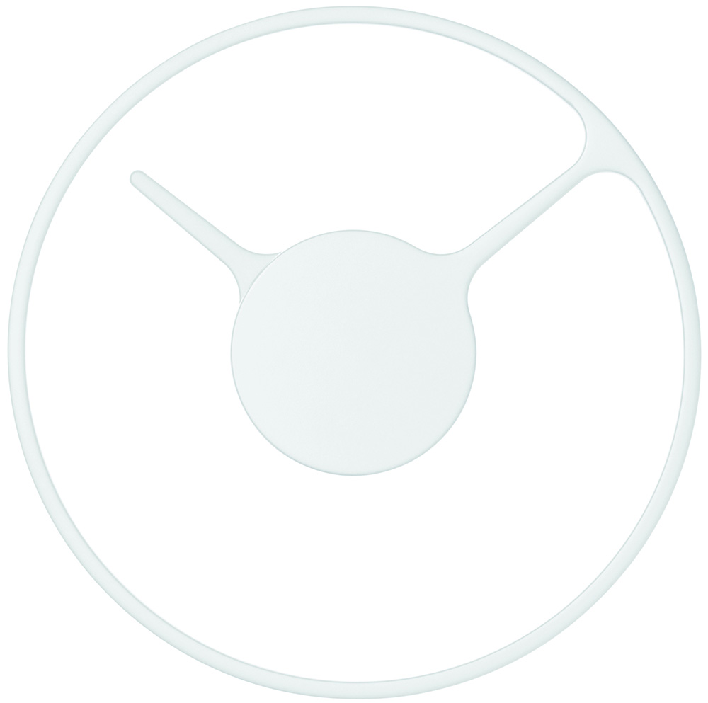 Stelton Time Väggur 22 cm – vit