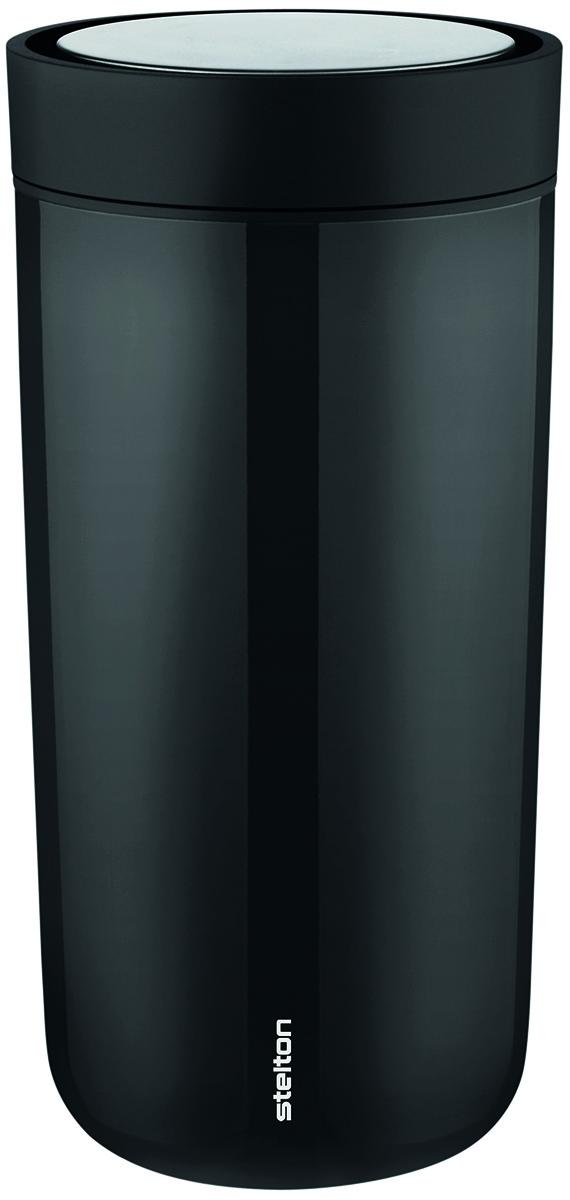 Stelton To Go Click, 0,34 l - Steel Black