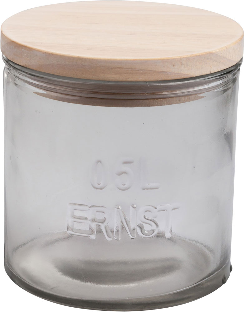 ERNST Trälock till glasburk d10 cm