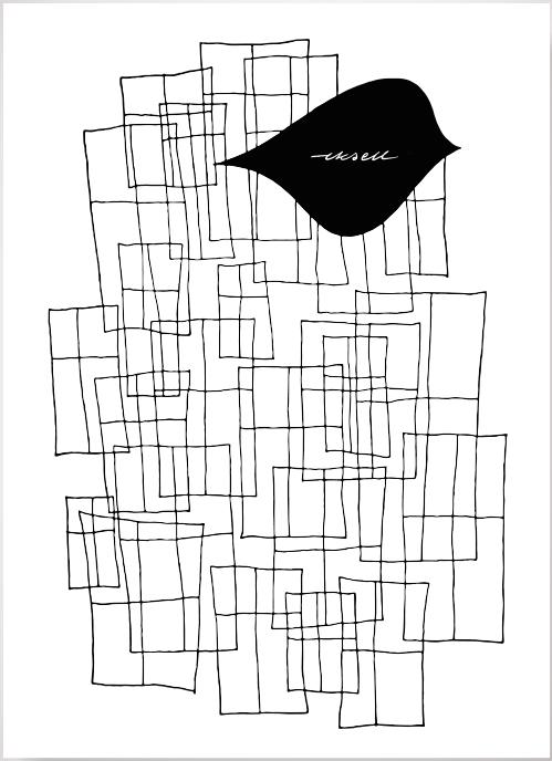 Olle Eksell – Rektangel poster